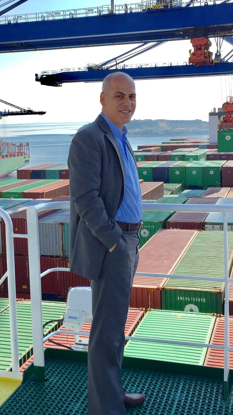 Nikos Ioannou, Managing Director of Benelux Overseas