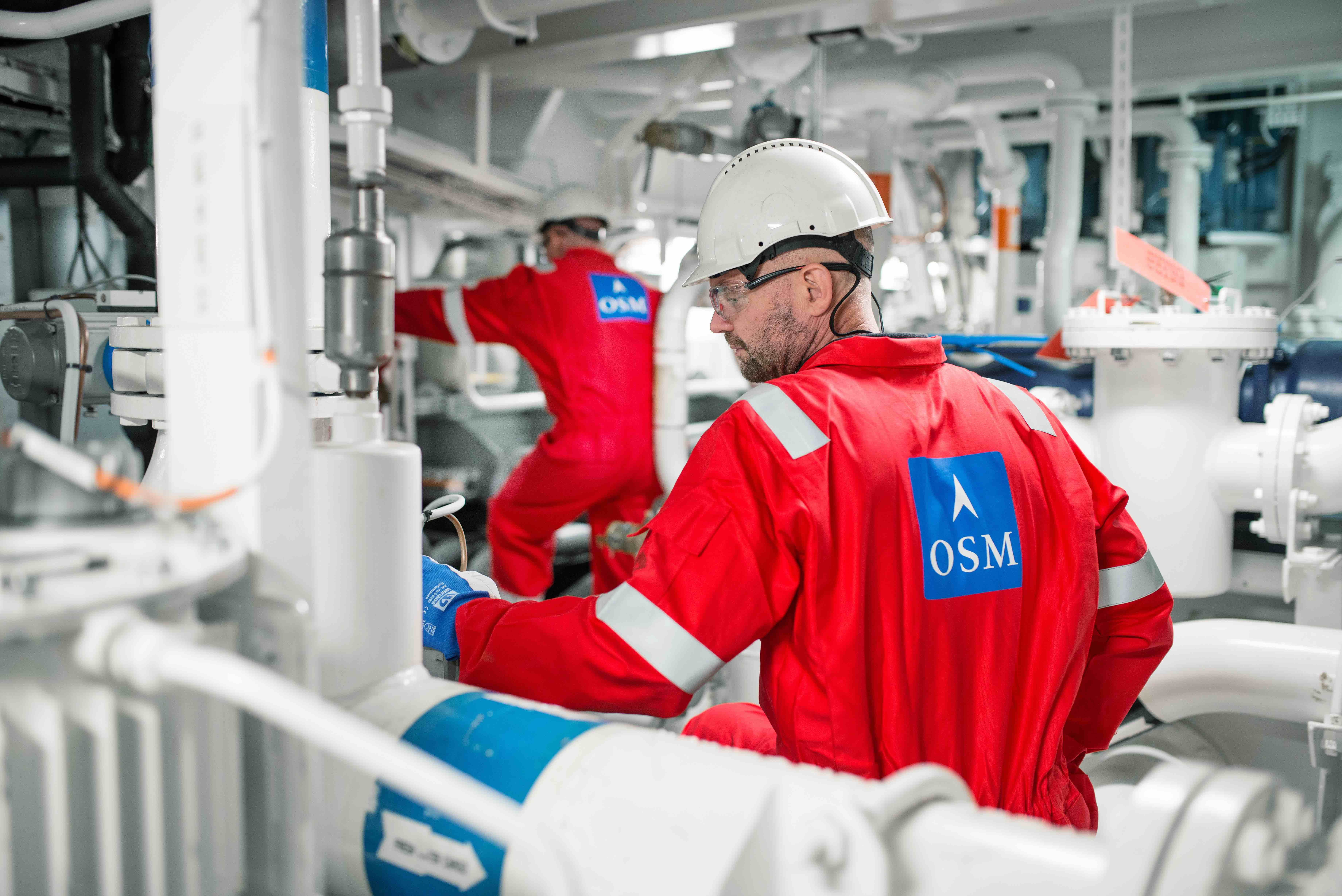 OSM – optimising operations on- and offshore
